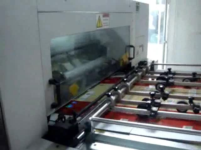 1050mm auto die cutting machine with stripping thumbnail image