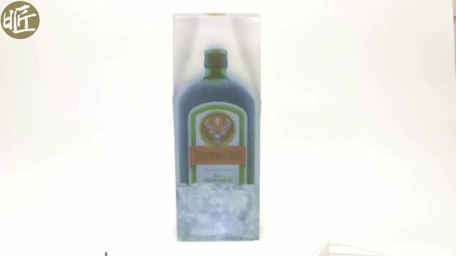 Plastic wine pacakging folding box thumbnail image