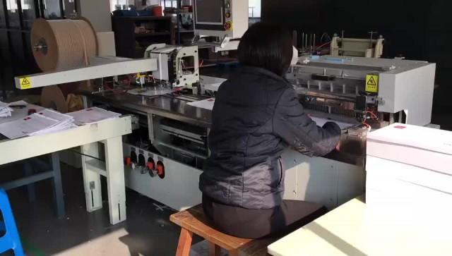 Double wire punching&binding machine