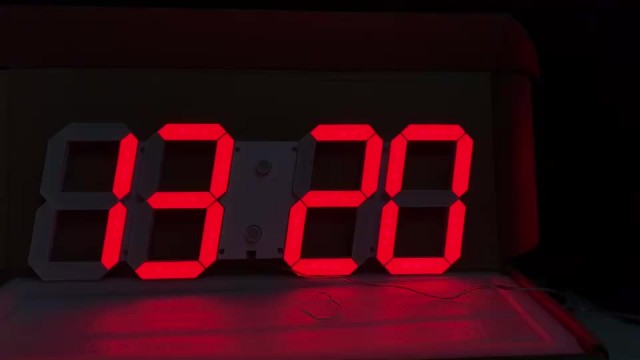 Hot selling for LED 3D digital clock