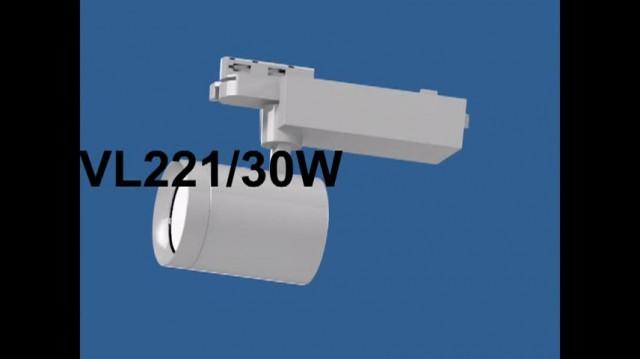 LED Tracklight spotlight 30W BVL221 thumbnail image