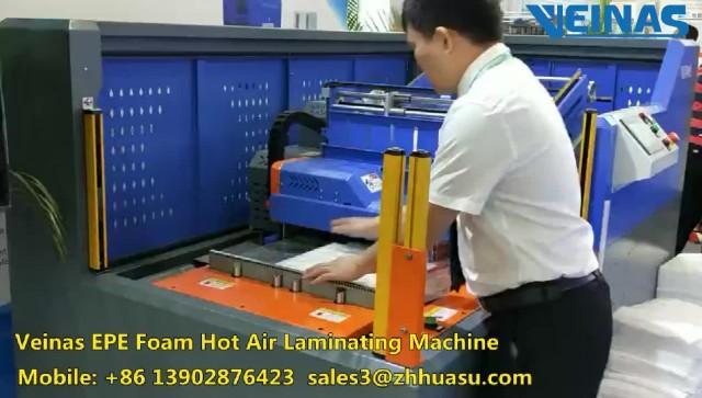 Veinas EPE Foam Hot Air Bonding Machine thumbnail image