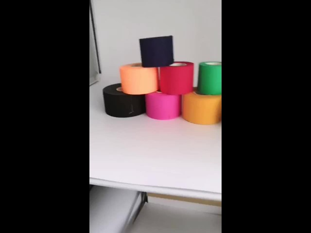 colorful cotton strapping tape thumbnail image