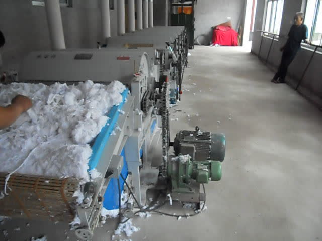 cotton waste recycling machine thumbnail image