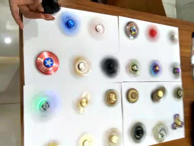 Aluminum Metal Toys Fidget Hand Spinner