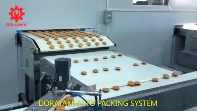 Dorayaki auto packing system