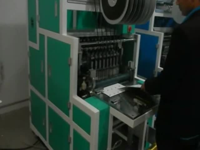 Auto Magnetic Stripe laying machine YMSL-1000 thumbnail image