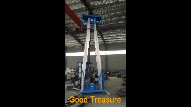 Double column Mobile Aluminum Alloy Lift Platform thumbnail image