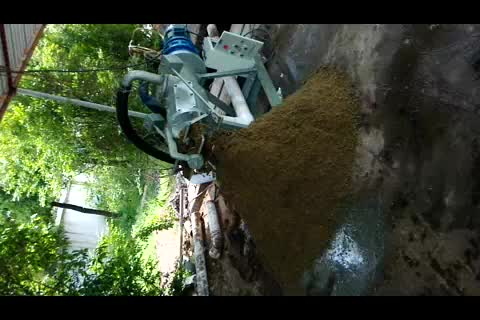 animal waste manure dewater machine