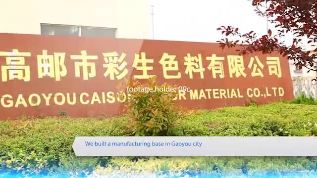 Water based pigment paste manufacturer