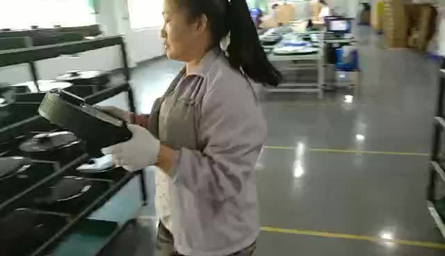 cleaning robot test