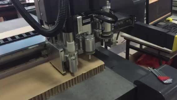 50mm honeycomb cutting flatbed plotter machine thumbnail image