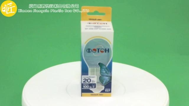 Custom electronic bulb packaging box thumbnail image