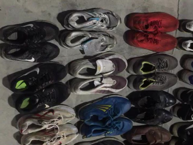 Grade B Used Shoes