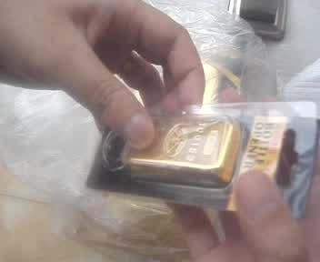Gold Bullion Bottler Opener (Keychain) thumbnail image