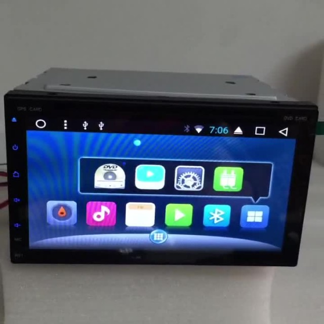 AST-6953 2 Din Car Dvd Player 2GB Octa-core thumbnail image