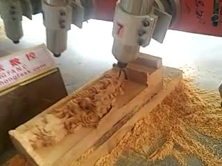 hongfa cnc flat wood engraving machine 3 axis thumbnail image