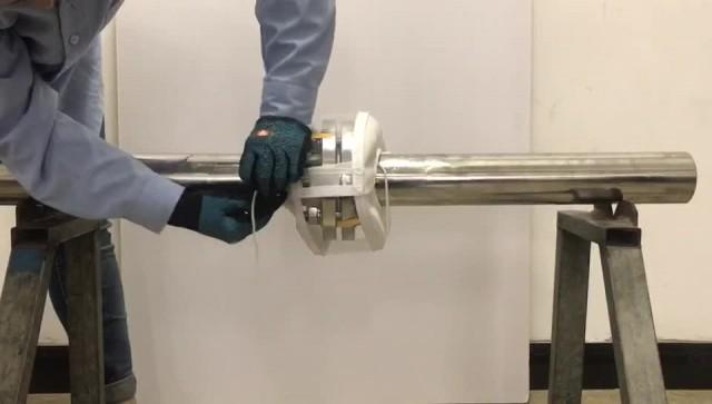 polypropylene pvc flange guard safety spray shield thumbnail image