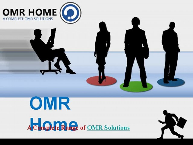 OMR Home - A Complete Range of OMR Solutions thumbnail image