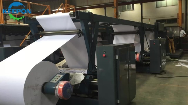A4 Paper Sheeting And Packing Machine thumbnail image