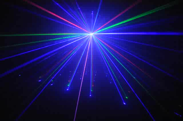 RGB LED Laser Light Beam Twinkling Star Firefly thumbnail image