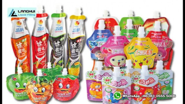 LH-ZLD-2 spout pouch filling and capping machine thumbnail image