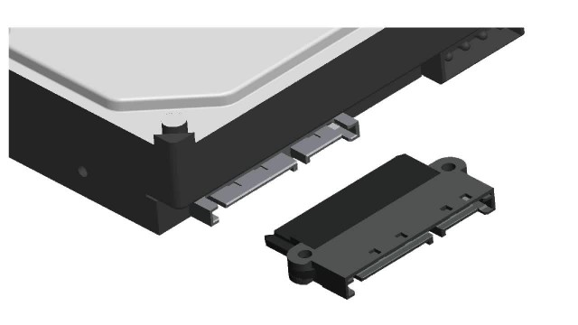 Wingsonic patented Non Scratch SATA connector thumbnail image