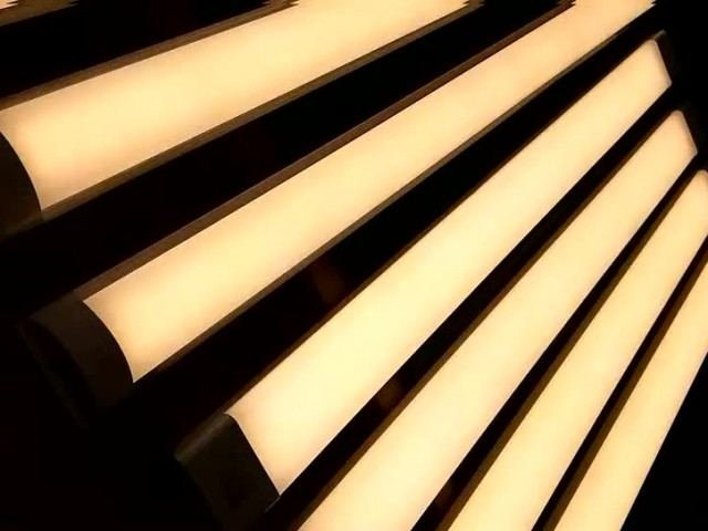 New linear light order in aging video