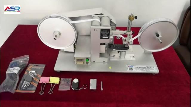 RCA Paper Tape Abrasion Tester Wear Test Machine thumbnail image
