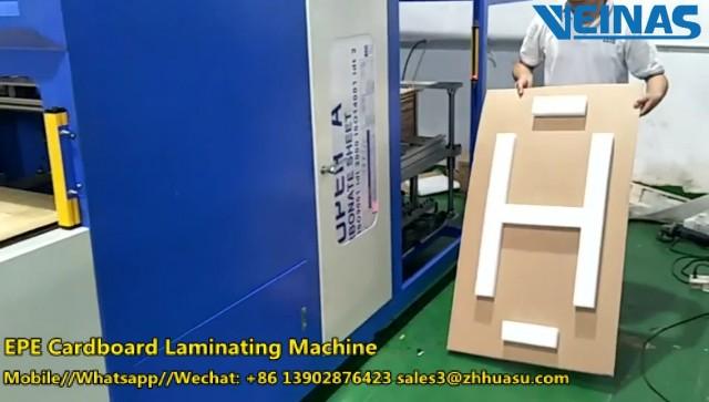 Veinas EPE Foam Corrugated Laminating Machine thumbnail image