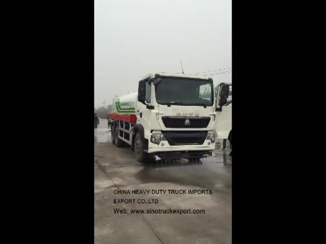 SINOTRUK HOWO water tank truck/sprinkler truck thumbnail image