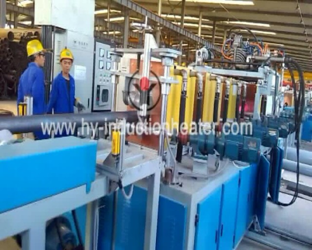 Casing pipes quenching and tempering line