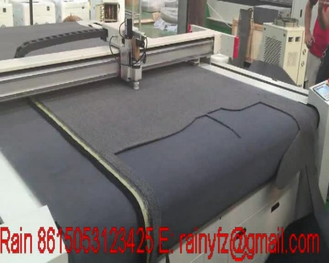 auto feeding Vibration knife cutting machine