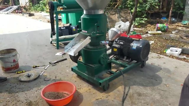 Feed Pellet Mills Working Video thumbnail image