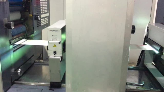 Stickers printing production