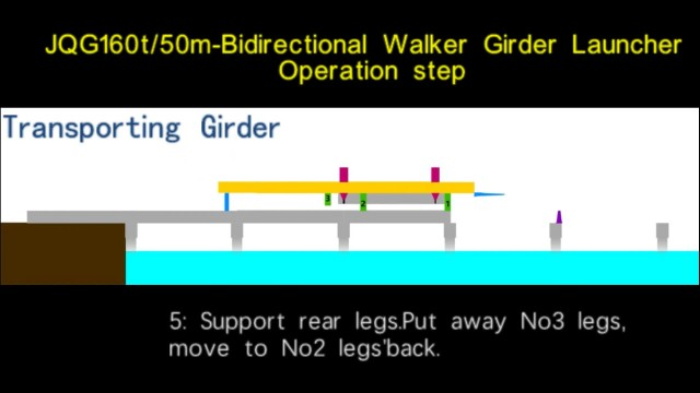JQG160-50-Bidirectional Walker Girder Launcher thumbnail image