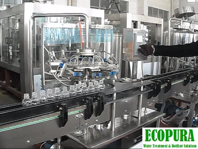 Linear model Rinsing Filling Capping Machine