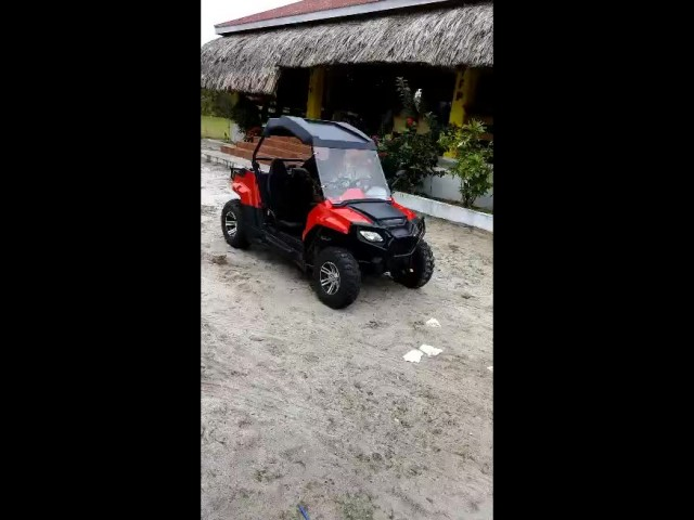 Bolize customer enjoy his new arrival 200cc UTV
