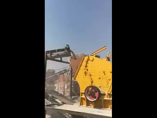 Impact crusher working process in crushing plant thumbnail image