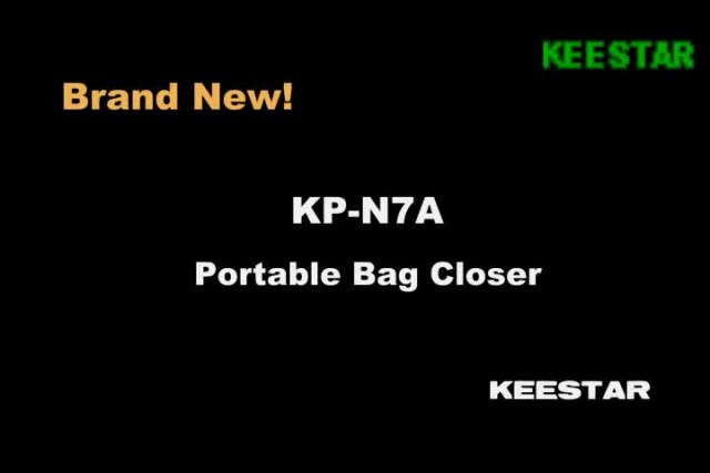KP-N7A portable bag closer thumbnail image