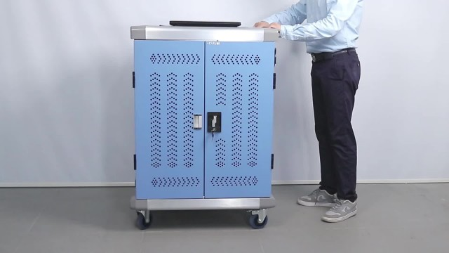 Smart charging cart for laptop 36 devices AC thumbnail image