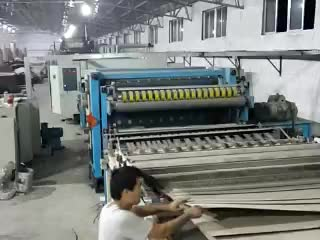 corrugated paperboard flute single facer machine thumbnail image