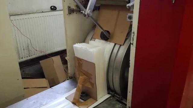 Flat/Satchel bag making machine with window film