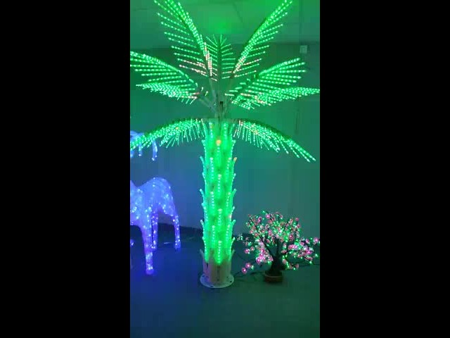 RGB Led palm tree