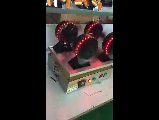heat powered stove fan with red light thumbnail image
