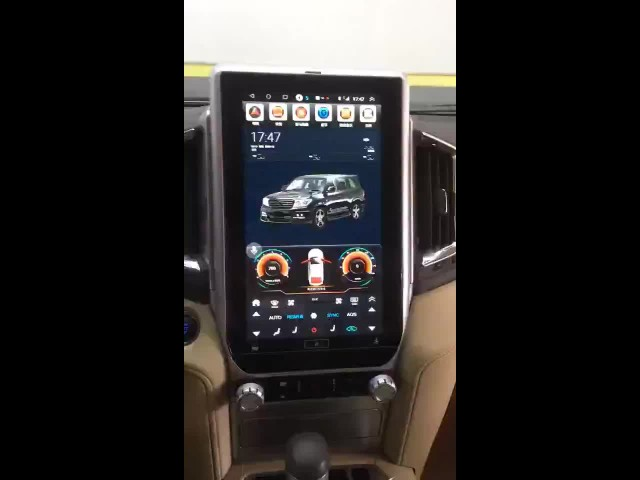 Vertical Screen 13.8 Inch Land Cruiser 2016-2019 thumbnail image