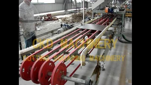Ceramic Tiles Cutting Squaring Production Line
