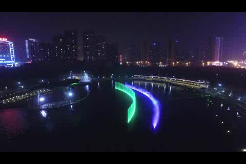 Large Floating Music Fountain with Laser Show thumbnail image