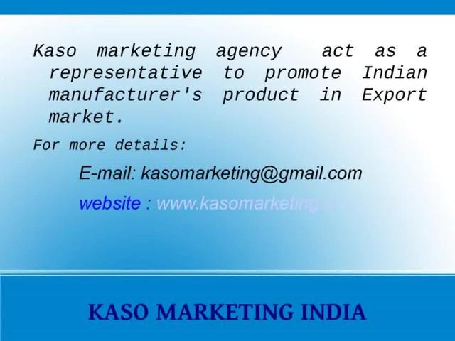 KASO MARKETING INDIA - INDIAN HOME TEXTILES  thumbnail image
