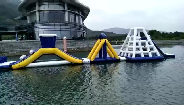 Giant Adult inflatable Aqua park Floating Park thumbnail image